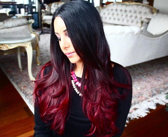 Red hair highlights hair highlightshair highlights ideas in 2013 it is not an easy thing to choose highlight color for black hair because even slightest change in the color can transform your look pmusecretfo Images